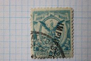 Mexico Revenue R246 C/1 1904-1905 50p pesos