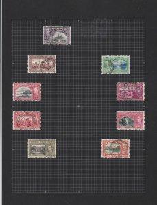 trinidad & tobago stamps page ref 17324