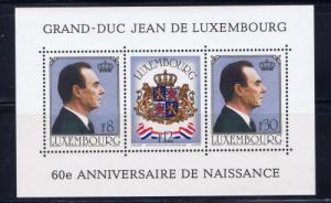 Luxemburg 650 NH 1961 S/S