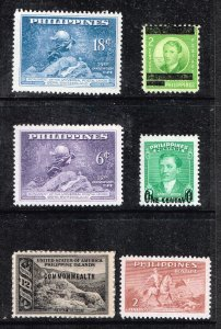 Philippines Stamp MINT STAMPS COLLECTION LOT