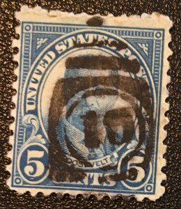 637 1922 Americans Series, 11x10 1/2 perf., Circ. single, Vic's Stamp Stash