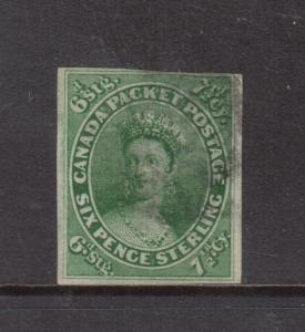 Canada #9 Fine - Very Fine Used **With Certificate**