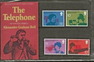1976 THE TELEPHONE-ALEXANDER GRAHAM BELL  PRESENTATION PACK 78