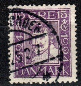 Denmark #169  F-VF Used  CV $7.00  (SU8381)