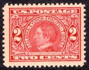 US Stamp #370 3c Seward MINT NH SCV $15