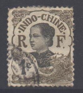 Indo-China SG51, 1907 Annamite 1c used
