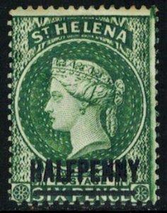 Saint Helena Scott 34 Unused hinged.