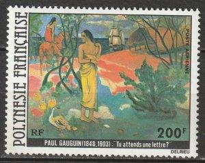French Polynesia 1979 Sc C169 air post MLH*