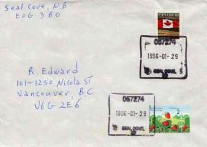 Canada, Flags, Flowers, Canada British Columbia