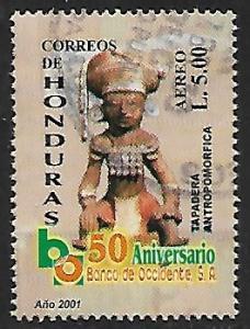 Honduras # C1109n - Maya Ceramics - used   -{BR9}