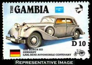 Gambia Scott 627 Mint never hinged.