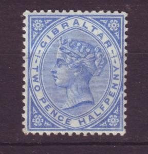 J19554 Jlstamps 1886-98 gibraltar mh #14 queen, 2 scans