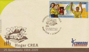 Costa Rica Hogar Crea Drug Rehabilitation Centers Sc 624 FDC 2009