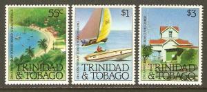 Trinidad & Tobago #364-6 NH Tourist Board Anniv.