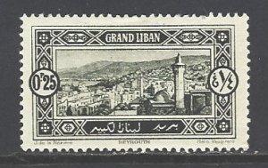 Lebanon Sc # 51 mint hinged (RS)