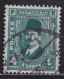 Egypt 193 King Fuad 1936