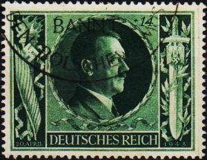 Germany. 1943 6pf+14pf S.G.833. Fine Used