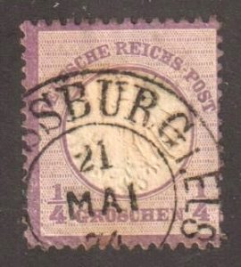#1 (Germany Empire ) USED with CDS