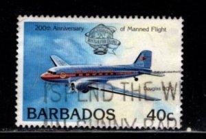 Barbados - #607 Manned Flight - Used