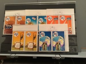 Korea 1976 U.I.T cancelled  Stamps pairs  R22832