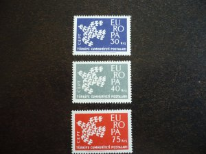 Europa 1961 - Turkey - Set