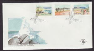 Aruba 64-66 Landscapes U/A FDC