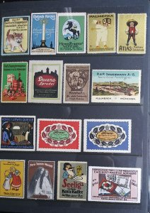 World Exhibition, Convention, Stamp Show, Poster, Label stamp Collection LOT#Q16