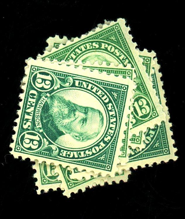 U.S. #622 (8) MINT F-VF OG NH Cat $160