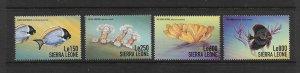 FISH - SIERRA LEONE #2156-9  MNH