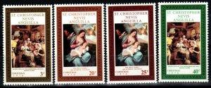 St  Kitts-Nevis #234-7  MNH