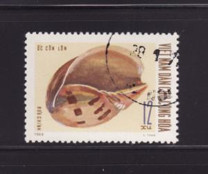 North Vietnam 581 U Sea Shell