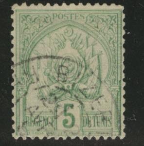 Tunis Tunisia Scott 12 used 1888 stamp