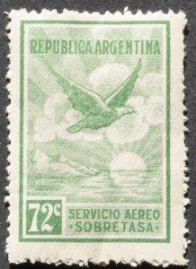 DYNAMITE Stamps: Argentina Scott #C13 – MINT