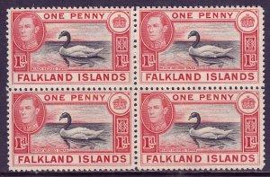 Falkland Islands - Scott #85 - Block/4 - MNH - See description - SCV $15