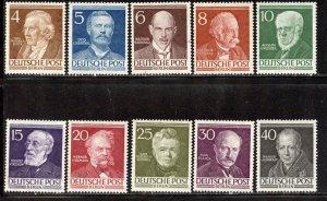 Berlin # 9N84-93, Mint Hinge. CV $ 34.10