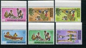 Togo #838-41 C198-9 MNH