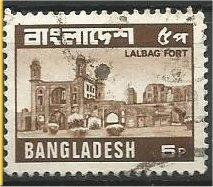 BANGLADESH, 1979, used 5p, Lalbag Fort Scott 165