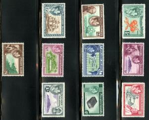 PITCAIRN ISLANDS 1-8 MNH SCV $78.40