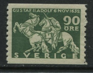 Sweden 1932 perf 10 vertically 90 ore mint o.g. hinged