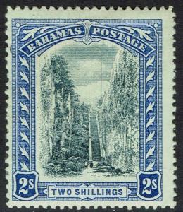 BAHAMAS 1911 QUEEN'S STAIRCASE 2/- WMK MULTI CROWN CA