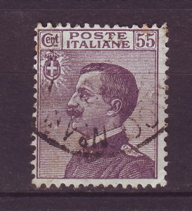 J24767 JLstamps 1908-27 italy used #105