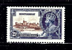 Montserrat 87 MH 1935 KGV Silver Jubilee