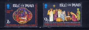 Isle of Man 205-08 MNH 1981 Christmas