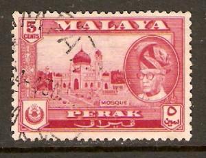 Malaya-Perak   #130  used  (1957)