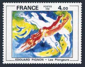 France 1773,MNH.Michel 2286. Art 1981.The Divers,by Edouard Pignon.