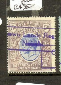 EAST AFRICA UGANDA (B1702B) KGV 5R  SG57  FISCAL USED  VFU
