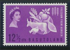 Basutoland  SG 80  Mint never Hinged -  Freedom from Hunger