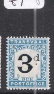 Transvaal Postage Due SG D4 MNH (1doe)