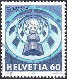 Switzerland # 932 used ~ 60¢ Architecture - Media House, France