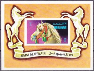 1972 Umm Al Qiwain 502/B36b Horses 4,50 €